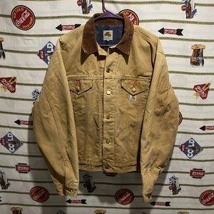 Men's Vintage Carhartt Sandstone Blanket Jacket L